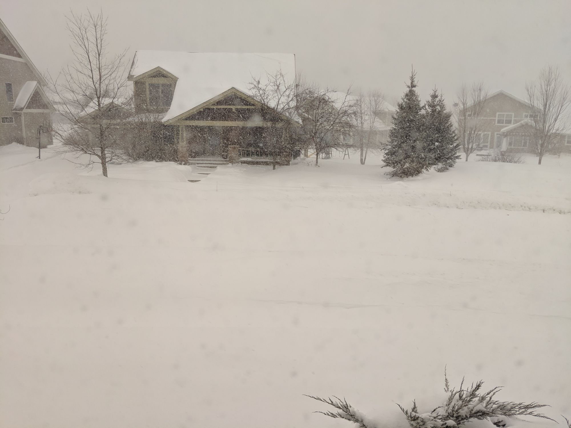sledding snow day