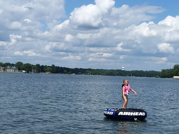 boating on prior lake